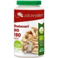 Zdravý den Shatavari BIO 180 kapslí