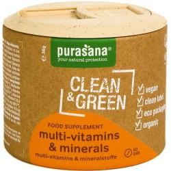 Purasana Multi Vitamins & Minerals BIO 60 tablet