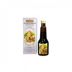 Ayur Elixir Asokarishtaya 220 ml- Elixír pro ženy (menstruace, hormony, plodnost)