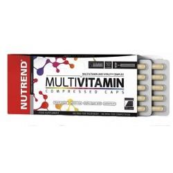 Nutrend Multivitamin Compressed Caps, 60 kapslí