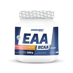 EnergyBody EAA Powder 500 g ledový čaj broskev