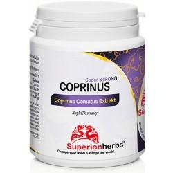 Superionherbs Coprinus Comatus 90 kapslí