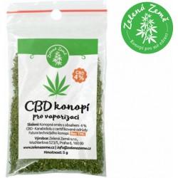 Zelená Země CBD Herba 4% k vaporizaci 5g