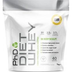PhD Nutrition Diet Whey 1kg Příchuť: Slaný karamel