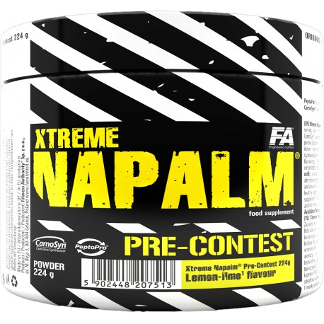 Fitness Authority Xtreme Napalm Pre-Contest 224 gr