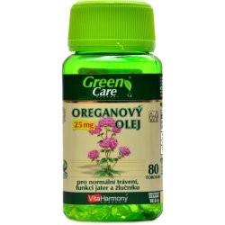 Vitaharmony Oreganový olej 25mg 80 kapslí