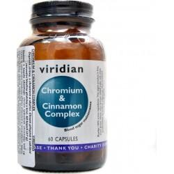 Viridian Chromium a Cinnamon Complex 60 kapslí