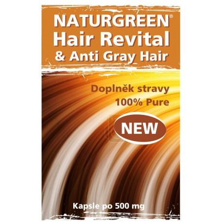 Natural Hair Revital  120 kapslí