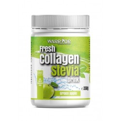 Warrior  Fresh Collagen Stevia Green Apple  350 gr