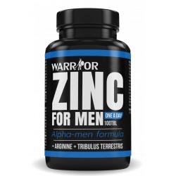 Warrior Zinek pro muže 100 kapslí
