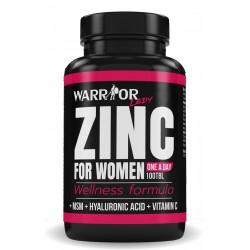 Warrior Zinek pro ženy 100 kapslí