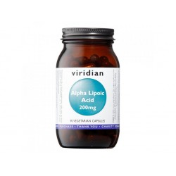 Viridian Alpha Lipoic Acid 200 mg 90 kapslí