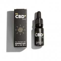 CBD Star CBD olej Day 9% 10 ml