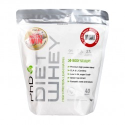 Phd Nutrition   Diet Whey 1kg cherry