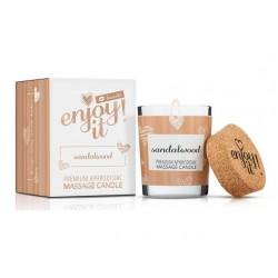 Masážní svíčka MAGNETIFICO - Enjoy it! Sandalwood