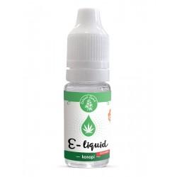 Zelená Země CBD e-liquid 1%, příchuť konopí 10 ml