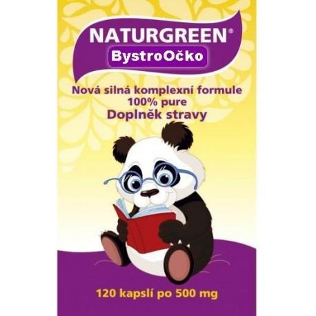 Naturgreen BystroOčko 120 kapslí