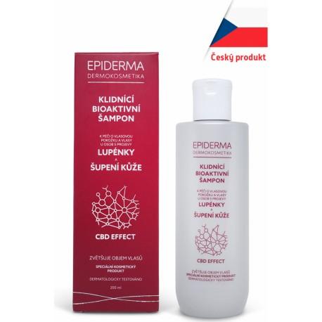 Konopný CBD šampon při lupénce 200ml
