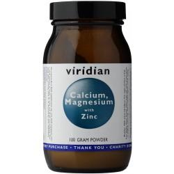 Viridian Calcium Magnesium with Zinc 100g (Vápník, Hořčík a Zinek) 100 gr