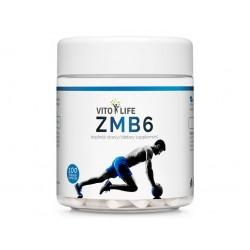 VITO LIFE - ZMB6 (ZMA - Zinek, Magnesium, Vitamín B6) 100 tobolek