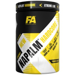 Fitness Authority FA Xtreme NAPALM HARDCORE 540 g Příchuť: Exotic