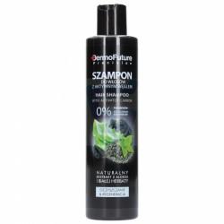 DermoFuture Baliček pro regeneraci vlasů . šampon,maska a kondicioner s aktivním uhlím