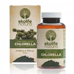 Algae Chlorella Organic 240 tablet (Bio řasa chlorella) Ekolife Natura