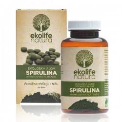 Algae Spirulina Organic 240 tablet (Bio řasa spirullina) Ekolife Natura