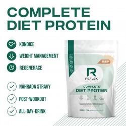 Reflex nutrition Complete Diet Protein 600g jahoda a malina