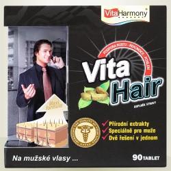 Vitaharmony VitaHair, vlasový stimulátor pro muže, 90 tbl.