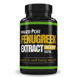 Warrior Fenugreek Extract – Pískavice v tabletách 100 tab