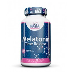 Haya Labs Melatonin Time release 60 kapslí
