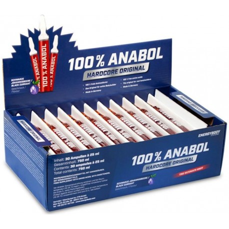 100 % Anabol 750 ml Energy Body