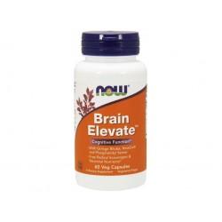NOW Brain Elevate (posílení mozku), 60 rostlinných kapslí