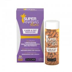 Zuccari Super Ananas Slim Carb & Fat Reducer / NA HUBNUTÍ / 80 capsules x 700 mg