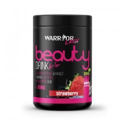 Warrior Beauty Drink - kolagenový nápoj s kyselinou hyaluronovou a stévií 350 gr