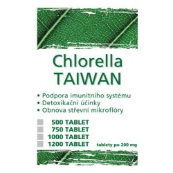 Naturgreen Chlorella Pyrenoidosa Taiwan 500 - 1200 tab.