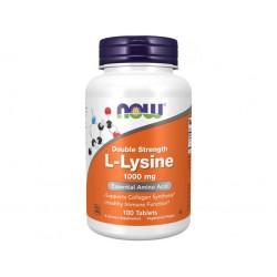 Now L-Lysine (L-lysin), 1000 mg, 100 tablet