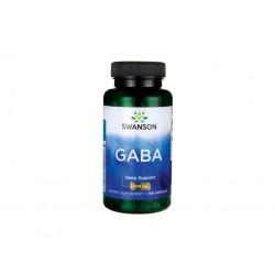 Swanson GABA (kyselina gama-aminomáselná), 500 mg, 100 kapslí