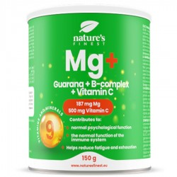 Nutrisslim Magnesium + Guarana + B-Complex + Vitamin C 150g (Hořčík+Guarana+B-komplex+Vitamín C)