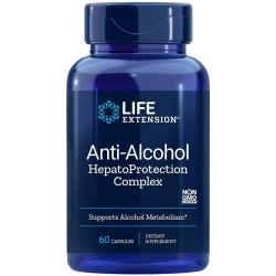 Life Extension Anti-Alcohol Hepatoprotection Complex (Ochrana před alkoholem), 60 softgel kapslí