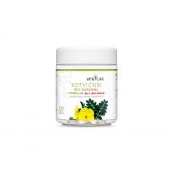 VITO LIFE - Kotvičník (Tribulus) - 98% saponinů, 100 tobolek (nástupce Kotvičníku 90% a 95%)