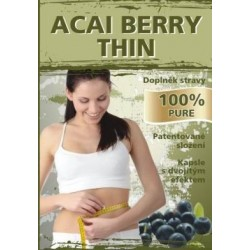 Naturgreen Acai berry Thin - 60 kapslí