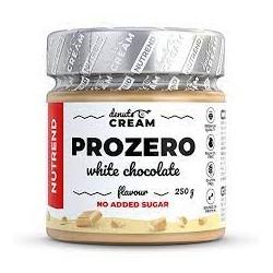 Nutrend DENUTS CREAM Prozero s bílou čokoládou 250 gr