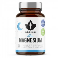 Puhdistano Night Magnesium 120 kapslí (Hořčík)