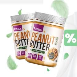 Natural nutrition Peanut Butter - Arašídové Máslo 1 kg