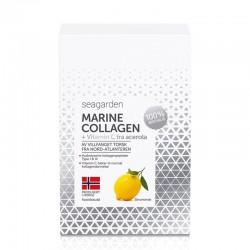 SeaGarden Marine Collagen + Vitamin C 30 x 5g citron