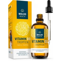 WoldoHealth Vitamín D3 1000 IU 50ml