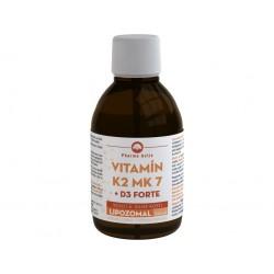 Pharma activ LIPOZOMAL Vitamín K2 MK7 + D3 1000 I.U. 250ml