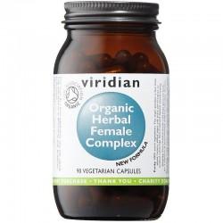 Viridian Herbal Female Complex 90 kapslí Organic